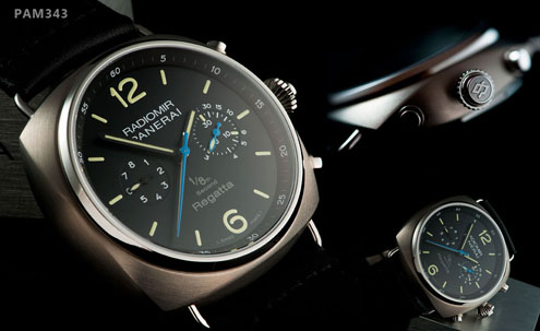 Panerai Special Edition 2010 - Radiomir Regatta 1/8 second