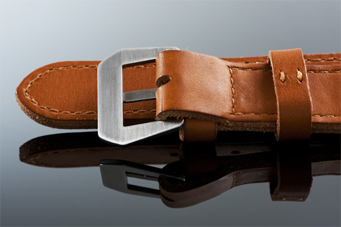 Lau and Van Leijden Sienna strap for Panerai