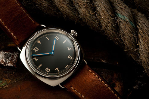 Panerai PAM249 California dial - on OEM cashmere strap