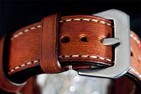 David Lane Design British bridle strap
