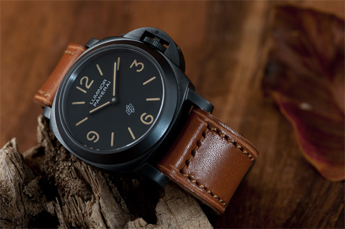 K99 strap by Kostas Veni on Panerai PAM360