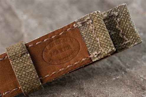 Vintager straps French Canvas