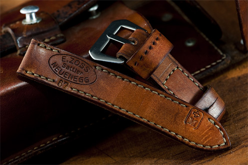 Swiss ammo strap for Panerai by Septimus straps