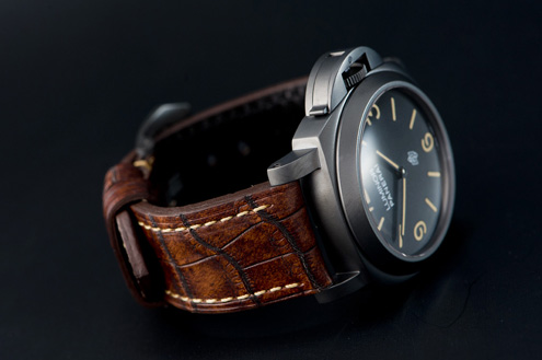 Vissuto straps for Panerai by Maikel Lau