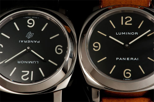 Panerai PAM2 and PAM0 base