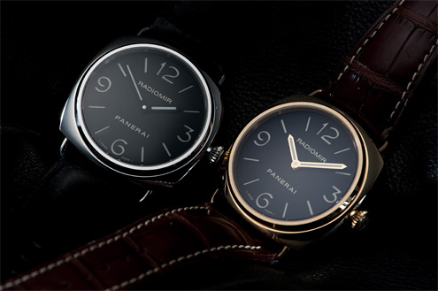 Panerai PAM231 next to the PAM210