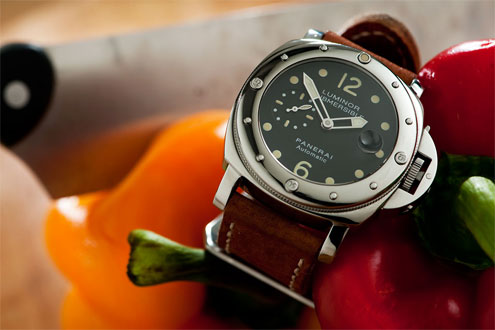Panerai 24A Submersible polished bezel