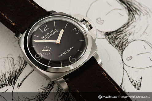 Panerai PAM267 photo for Paneristi 2010 calendar