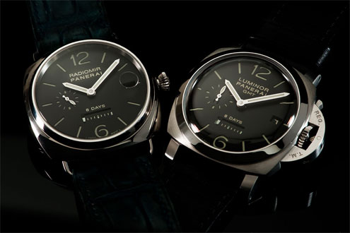 Panerai PAM286 Radiomir 8 Days and the PAM233