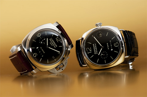 Panerai PAM270 next to the PAM268 Radiomir