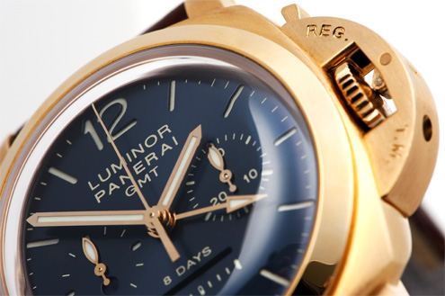 Panerai PAM277 Luminor Chrono Monopulsante GMT