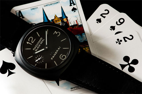 PAM292 Ceramic Radiomir Black Seal
