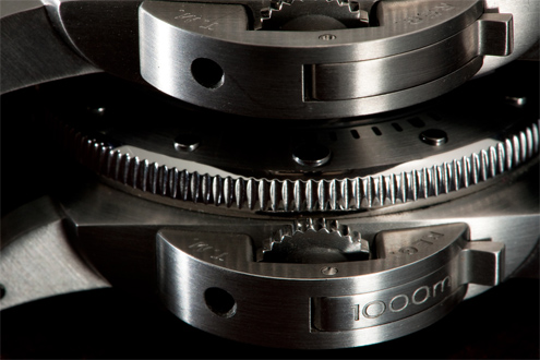 1000m engraving in the lever of the PAM243