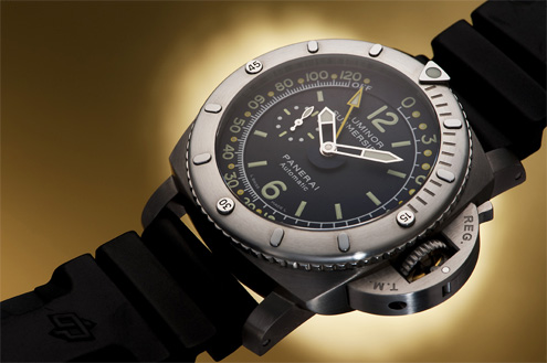 PAM 307 Luminor 1950 Pangaea Submersible Depth Gauge