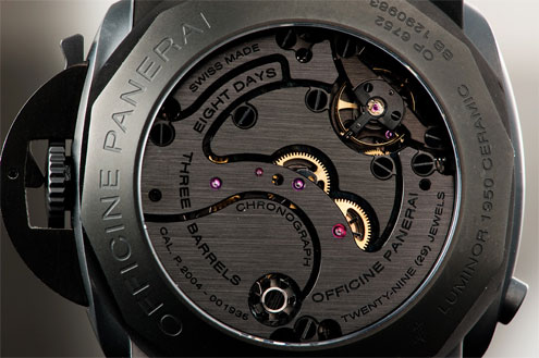 Panerai Ceramic PAM317 case back