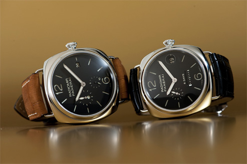 Panerai PAM323 Radiomir 10 Days GMT and Panerai PAM268 Radiomir 8 Days GMT
