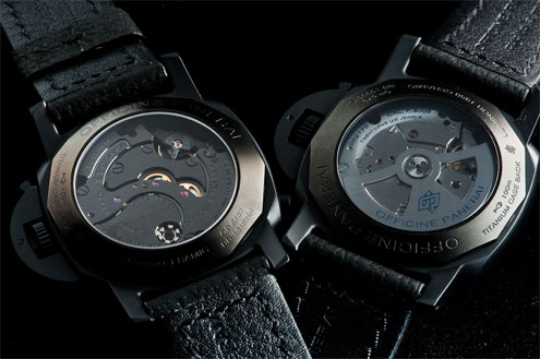 Panerai Ceramic PAM317 and PAM335 case backs
