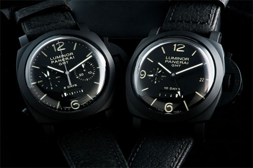 Panerai Ceramic PAM335 and PAM317