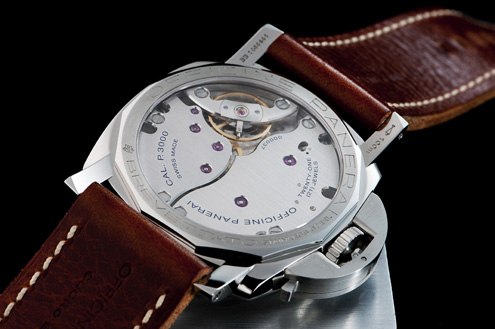 Panerai PAM372 display back