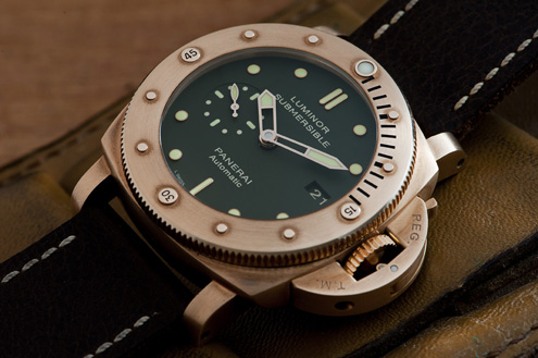 PAM382 Luminor Submersible 1950 Bronzo 47mm