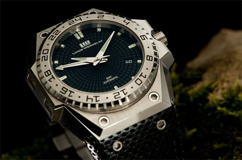 Linde Werdelin 3-Timer GMT stainless steel