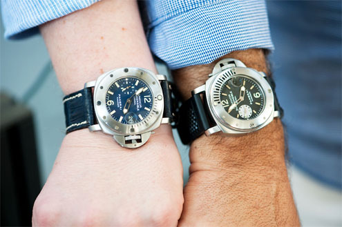Panerai PAM87 and PAM64