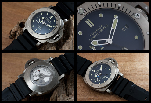 PAM371 Luminor Submersible 1950 Regatta 3 Days GMT