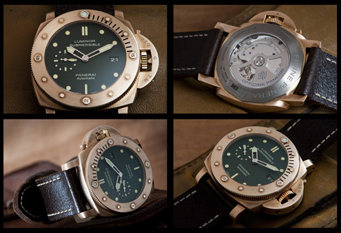 Panerai PAM283 Luminor Submersible 1950 Bronzo