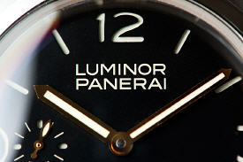 close up of a PAM127