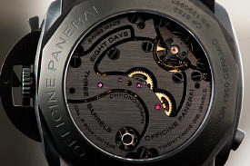 PAM317 case back close up